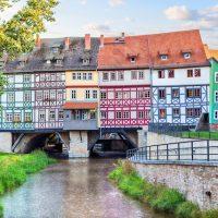 【ドイツ】中世のたたずまいを残す、1200年の歴史をもつ花の都・エアフルト