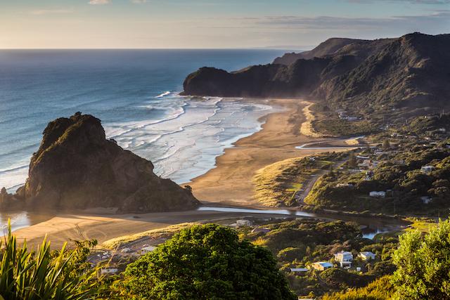 ニュージーランド、サーフ紀行。KIWIに人気の「カフェ」とピハビーチ