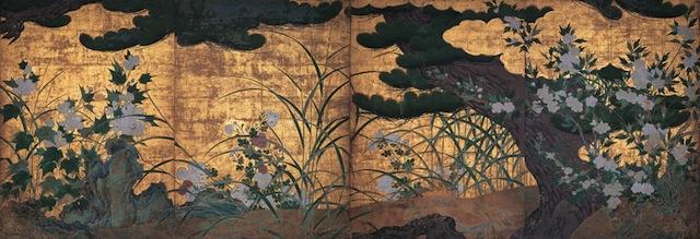 京都・智積院で「秋の桜」を愛でる