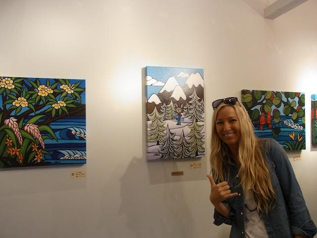 ハワイやビーチを感じるインテリアにぴったり!ヘザー・ブラウンのアート