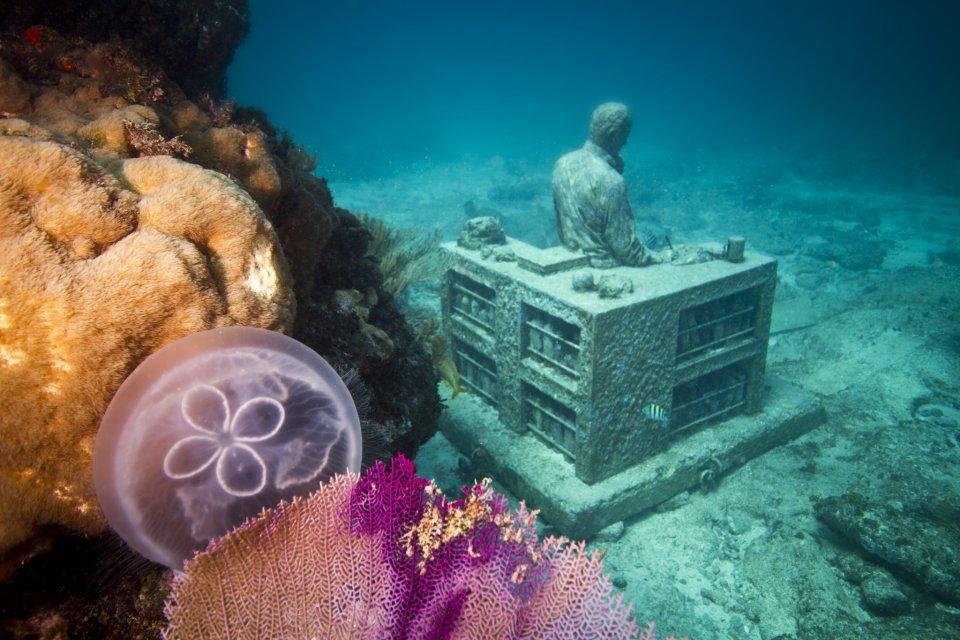 【閲覧注意!】話題のメキシコの海底美術館が芸術的?グロい?不思議な感覚に