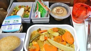【機内食で世界めぐり】 シドニー空港〜アブダビ空港間「エティハド航空」