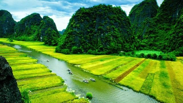 静けさを求めて。桃源郷のような、ベトナムの田園絶景