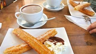 スペインの甘〜い朝食、食べたことある?