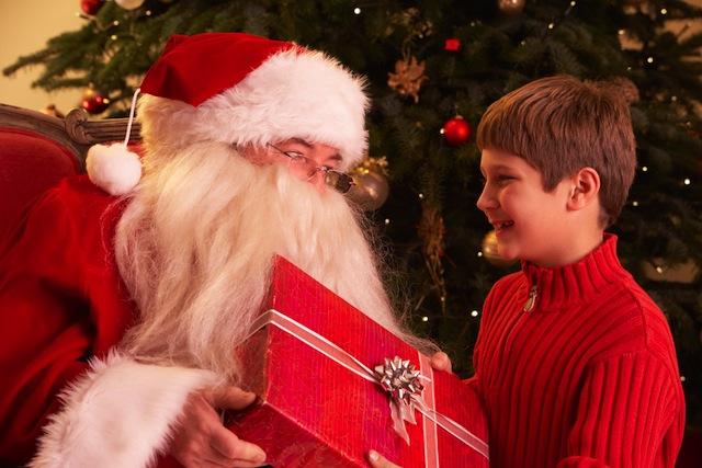 サンタクロースは本当に存在する!