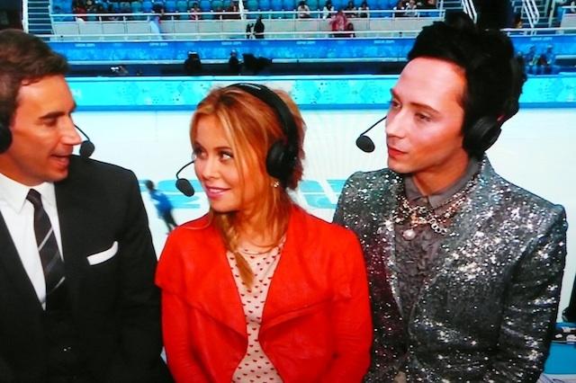 【ソチ五輪】全米騒然!選手よりゴージャスな「フィギュアスケート解説者」