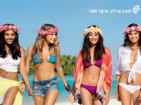 またまたニュージーランド航空の機内安全ビデオが話題に!新作は水着美女?!