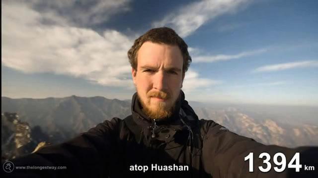 【話題動画】目指したのは3千マイル。中国からドイツまで歩いた男性の実話