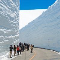 巨大な雪の壁に息を呑む!春の立山黒部アルペンルート