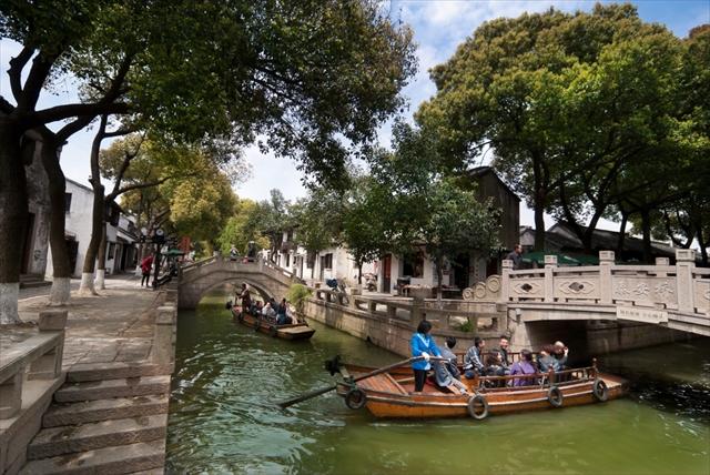 【中国】東洋のヴェネツィアとうたわれる蘇州の絶景