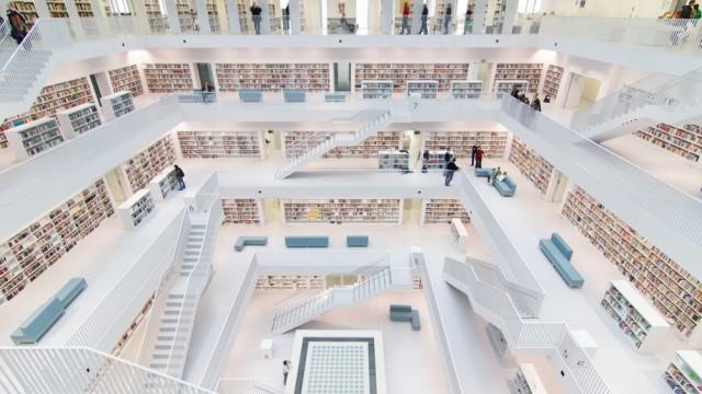 白さに心が洗われる・・・世界の美しすぎる「ホワイトな図書館」3選