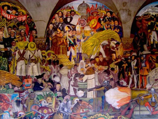 【メキシコシティ】巨匠芸術家ディエゴ・リベラが残した圧巻の壁画3選