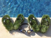 サンダルの中に芝生が生えた!オーストラリア発、ユニークなビーチサンダル