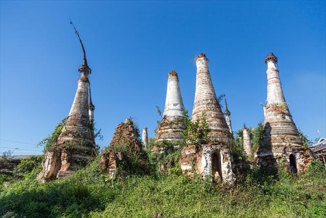 数千のパゴダが林立するバガン遺跡の絶景