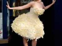 サプライズにピッタリ!?一度は着てみたい奇抜なウエディングドレス