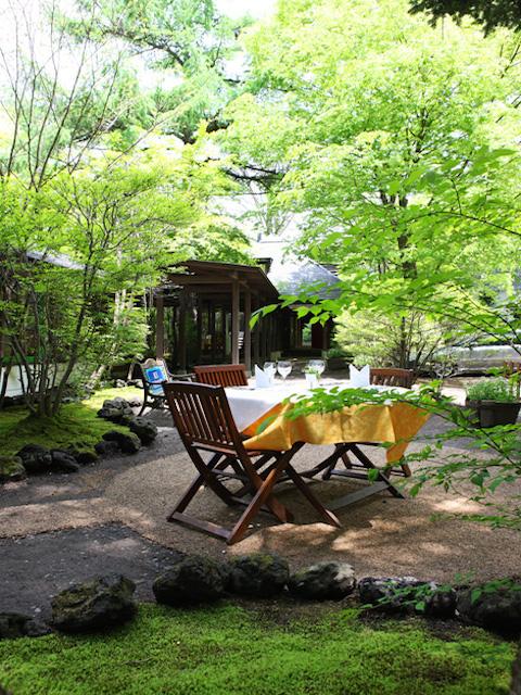軽井沢の絶品フレンチで贅沢な大人の夏休みを満喫