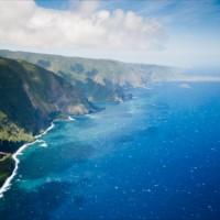 通路側に座ると損?夢の島ハワイ上空から見える幻想的な景色たち