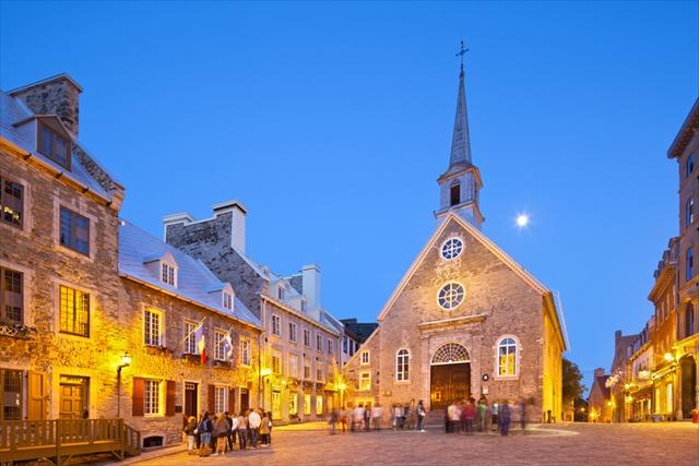 紅葉も美しい、北米屈指のロマンチックな「ケベックシティ」