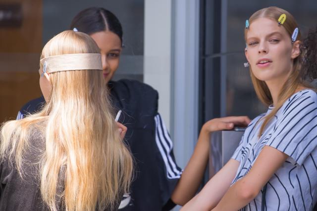 【現地レポート】NYファッションウィークを飾る、モデルたちの素顔