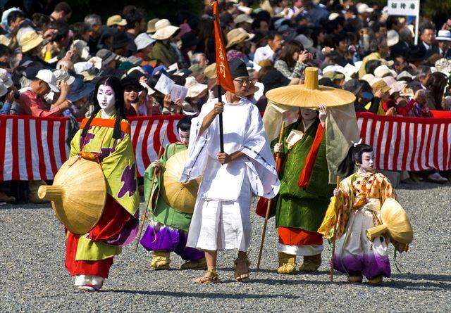 京都に繰り広げられる豪華絢爛時代絵巻
