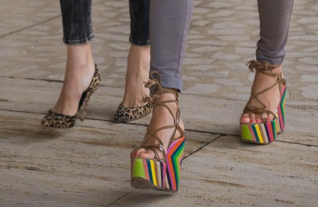 ニューヨーカーは靴が大好き!NYファッション・ウィークで見かけたお洒落な靴コレクション