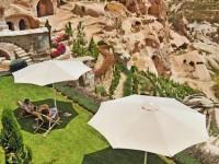 ゴージャスな洞窟ホテル「アルゴス・イン・カッパドキア」で遺構を堪能