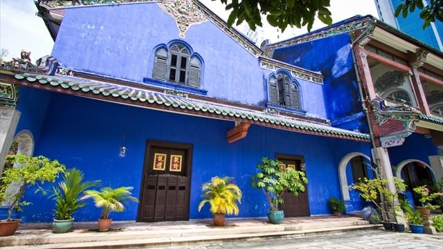 風水の教えを厳密に再現。ユネスコも認めた青いホテル「ブルーマンション」