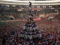 (スペイン)カタルーニャの伝統 人間塔大会