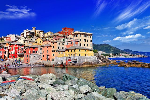 新旧の美しさが融合、ロマンチックなイタリアの湾岸都市「ジェノヴァ」