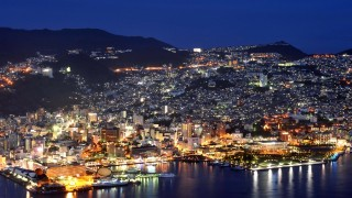 【世界新三大夜景の長崎】洋館と運河のロマンティック・イルミネーション