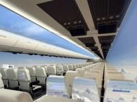 未来の飛行機はなんと窓なし!? SF世界が現実に