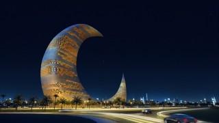 なぜか見ると元気が出る、思わず二度見のドバイ建築!!
