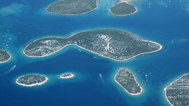 【クロアチア】神の涙で生まれた島々「コルナティ諸島」