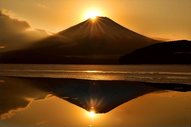ダイヤモンドで美しくドレスアップする富士山3選