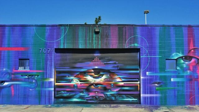 車を使わずにロサンゼルスのストリートアートを楽しもう!