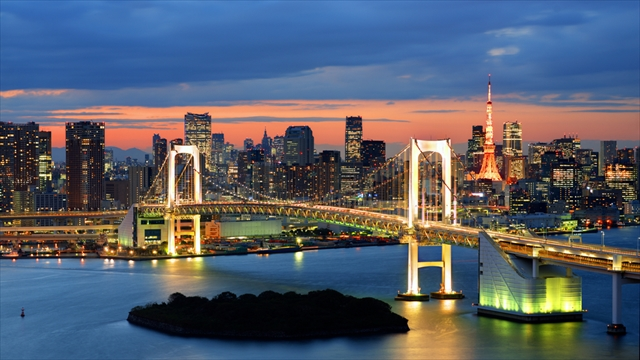 【東京】気軽に日常を忘れるひと時を味わえる、東京湾クルーズ