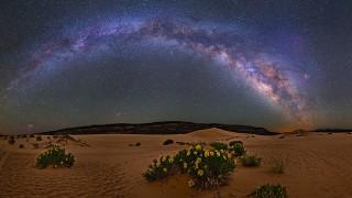 まるで星空の万華鏡!星降る夜に癒されよう。