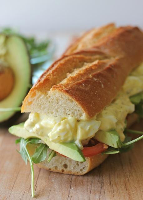 【GWブランチ】グリークヨーグルトを使ったタマゴサンドイッチ