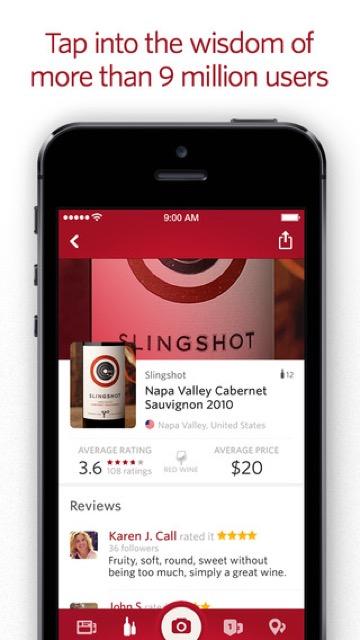 ラベルを撮るだけでワインを認識!アプリ「Vivino」が超便利