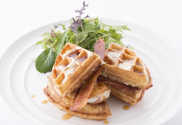 明日から限定! 朝食の女王「サラベス」から新登場のお食事ワッフル