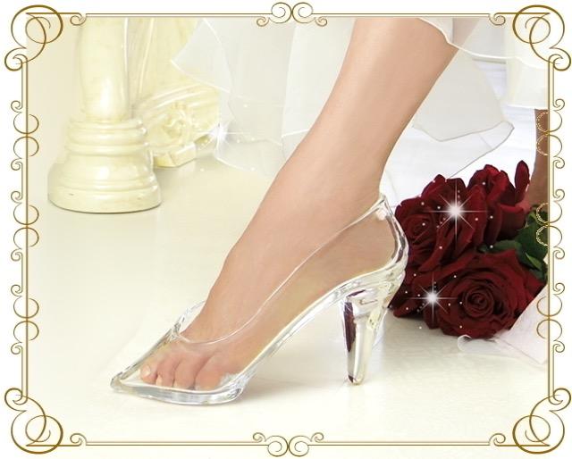 自分へのご褒美にいかが?本当にはけるガラスの靴