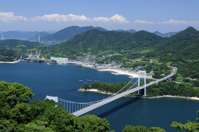 サイクリングの聖地!景色もグルメも最高の、しまなみ海道