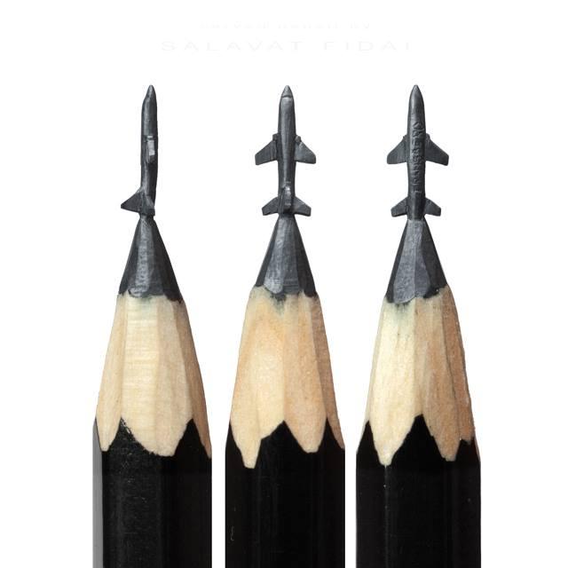 まさにミクロの世界!誰もマネできない鉛筆アート