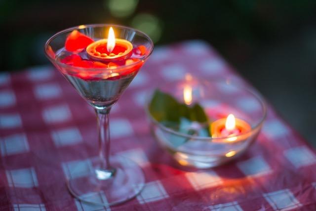 【簡単ライティング】夏の夕暮れをロマンティック気分に