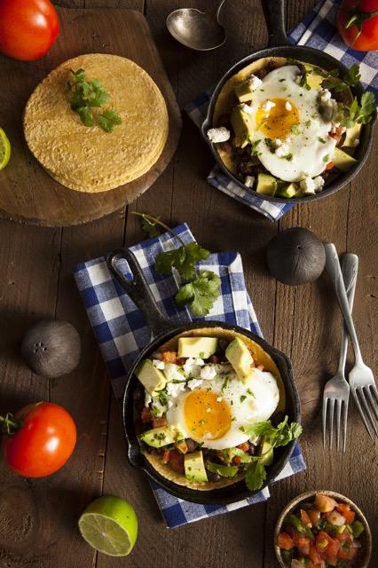 スキレットで作っても! 海外で人気の「メキシコ風朝ごはん」