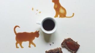 日常から描き出すちょっと笑顔になるコーヒーアート
