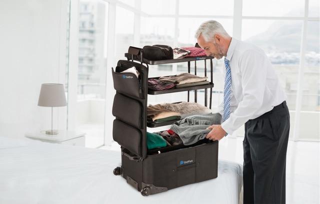 これでもう散らからない!荷物を収納したまま使えるスーツケース