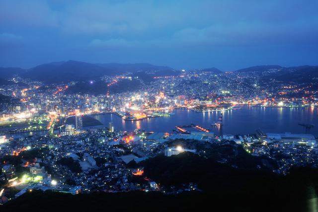 日本で一番夜景の美しい街に選ばれた長崎の絶景感動ホテル