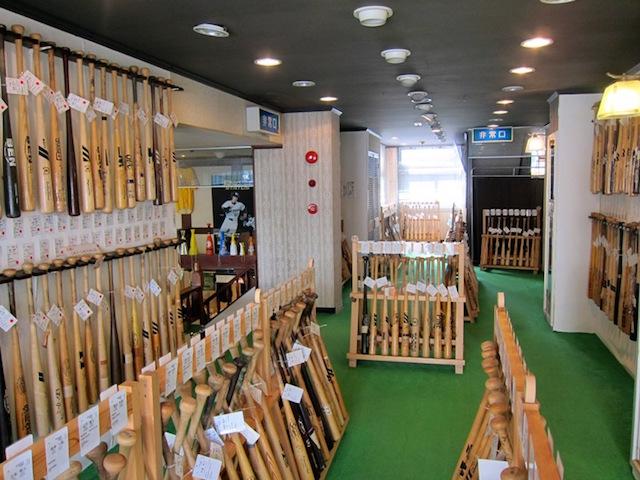 【富山】なんと木製バットの生産日本一!南砺市福光のバットミュージアム