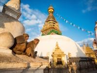【ネパール】カトマンズ盆地を一望の仏教寺院モンキーテンプルの絶景
